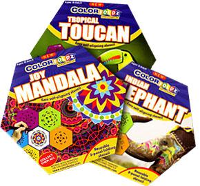 5-fold ColorFoldz Designs (ages 8-adult)