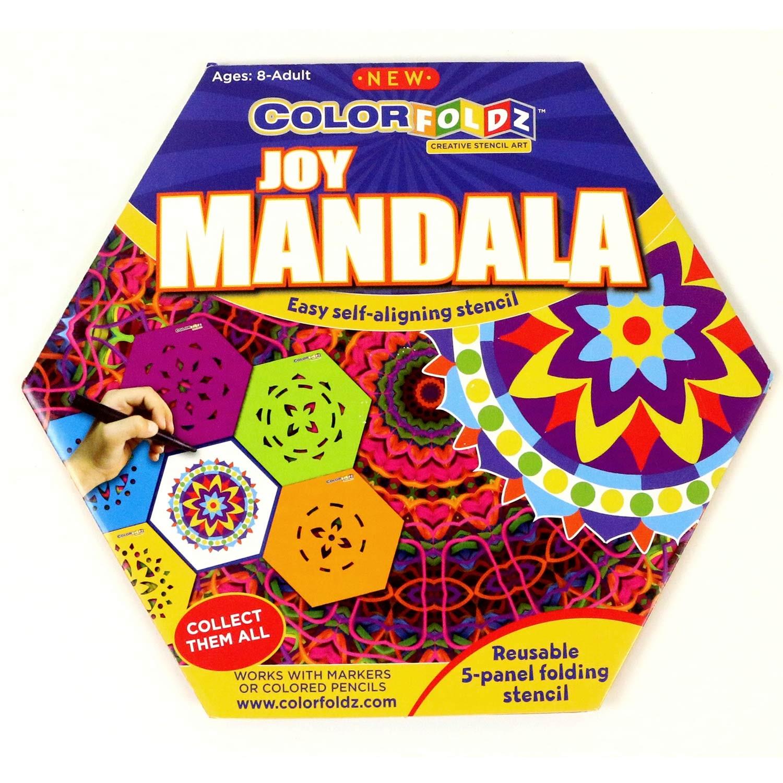 Joy Mandala ColorFoldz Self-Aligning Stencil