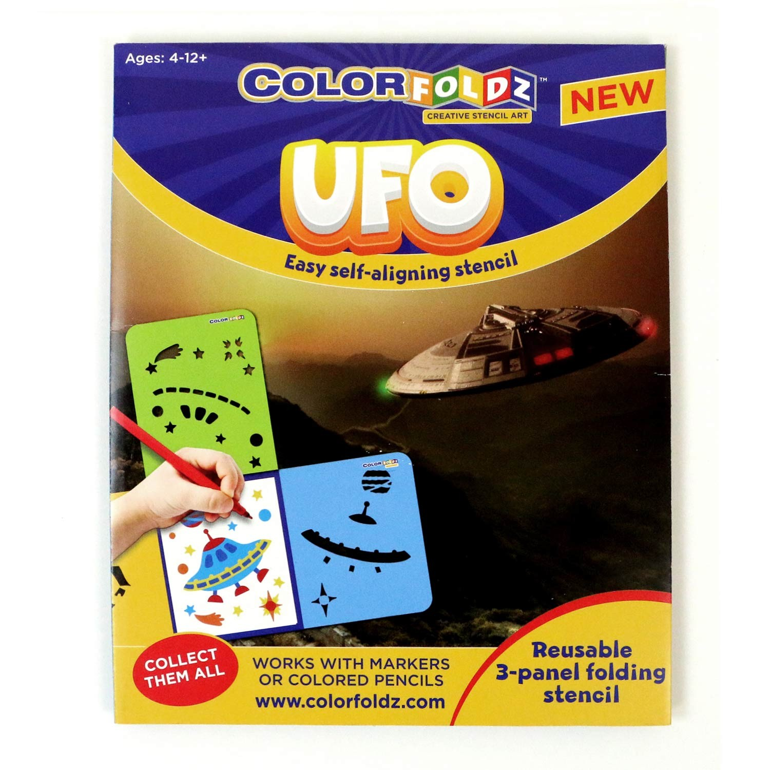 UFO ColorFoldz Self-Aligning Stencil