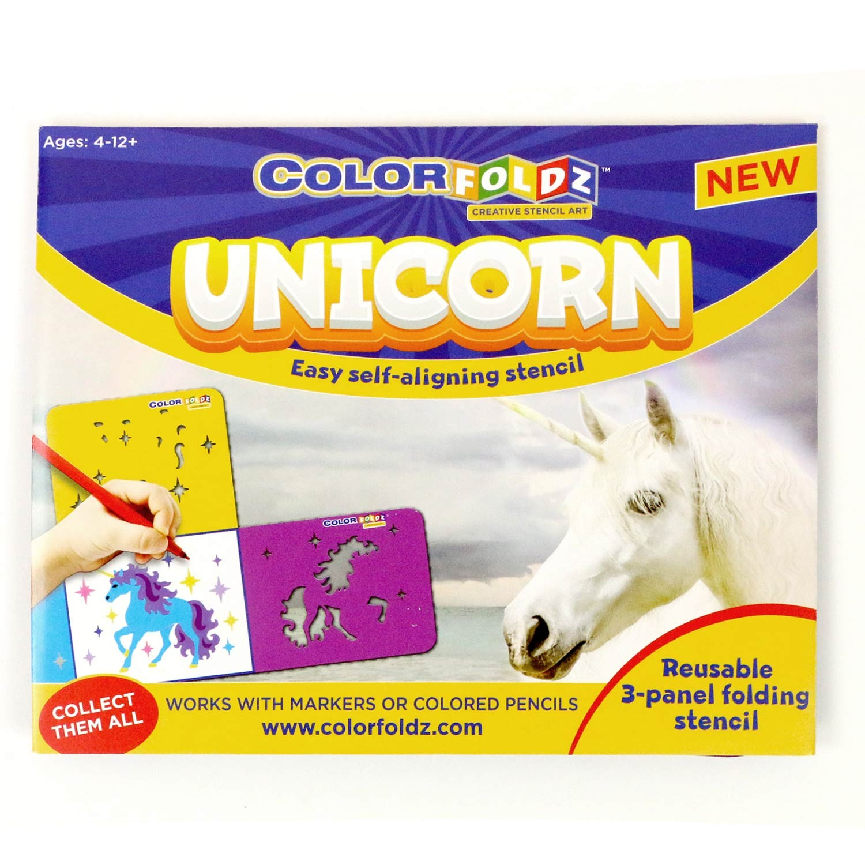 Unicorn ColorFoldz Self-Aligning Stencil