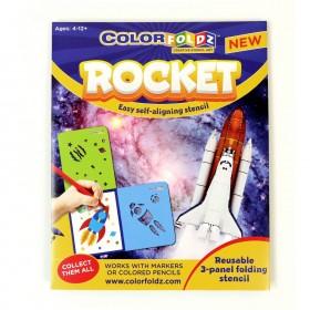 Rocket ColorFoldz Self-Aligning Stencil