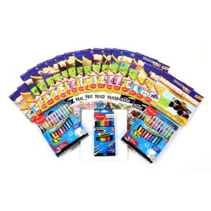 18 ColorFoldz Birthday Party Kit