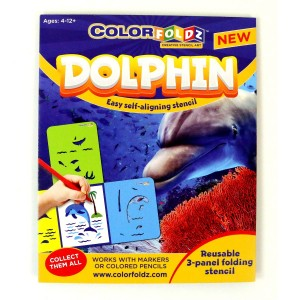 Dolphin ColorFoldz Self-Aligning Stencil