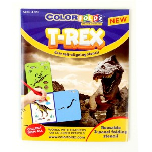 T-Rex ColorFoldz Self-Aligning Stencil