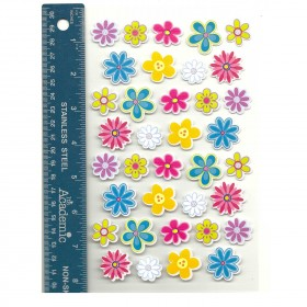Opalescent Flowers Stickers