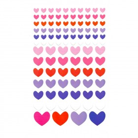 Opalescent Hearts Stickers