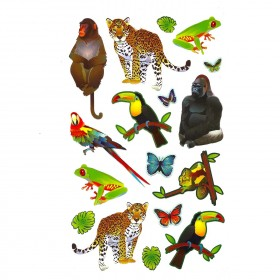 Jungle Animals Stickers