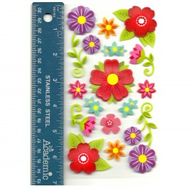 Florals Vellum Stickers