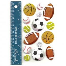 Popular Sports Balls Stickers