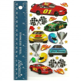 Race Cars Stickers